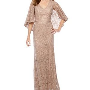 Marina Beige Long Gown
